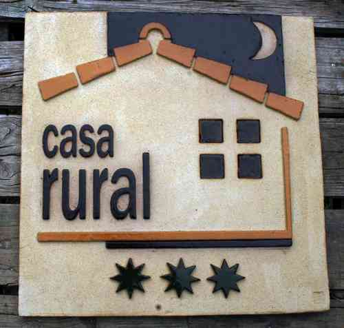 Distintivo Casa Rural CL